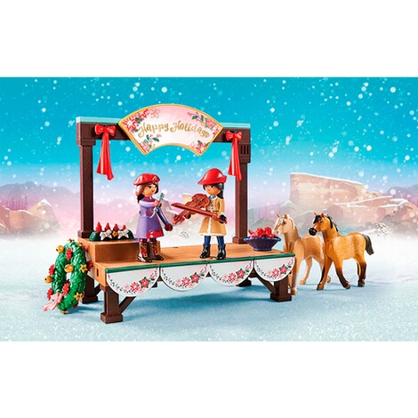 Playmobil®SPIRIT RIDING FREE70396 Weihnachtskonzert 4