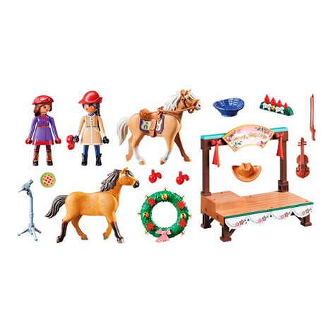 Playmobil®SPIRIT RIDING FREE70396 Weihnachtskonzert 2