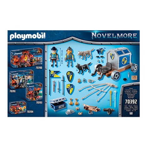 Playmobil®Novelmore70392 Novelmore Schatztransport 7