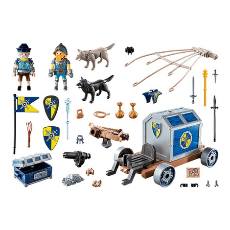 Playmobil®Novelmore70392 Novelmore Schatztransport 2