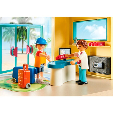 Playmobil®FAMILY FUN70434 PLAYMO Beach Hotel 5