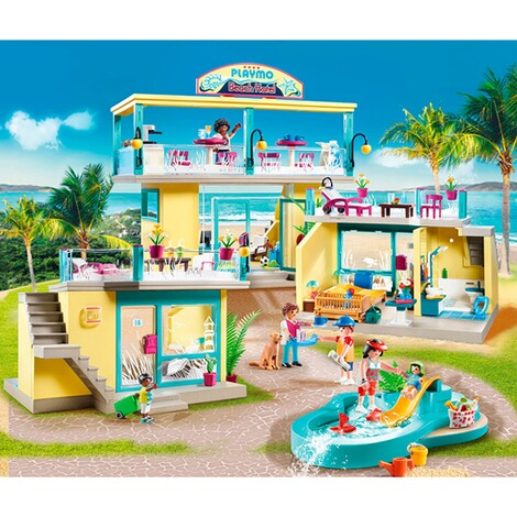 Playmobil®FAMILY FUN70434 PLAYMO Beach Hotel 3