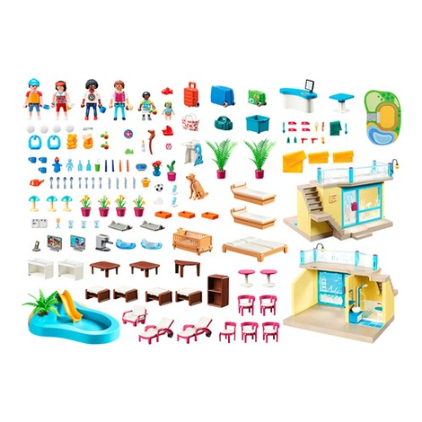 Playmobil®FAMILY FUN70434 PLAYMO Beach Hotel 2