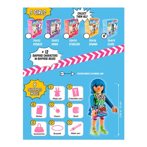 Playmobil®EverDreamerZ70477 Clare - Comic World 4