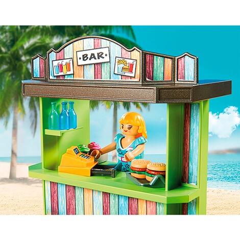 Playmobil®FAMILY FUN70437 Strandkiosk 4