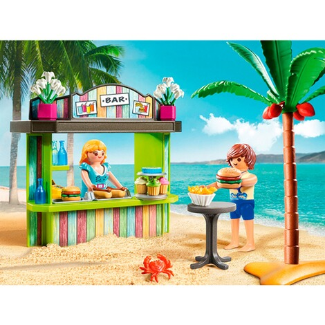 Playmobil®FAMILY FUN70437 Strandkiosk 3