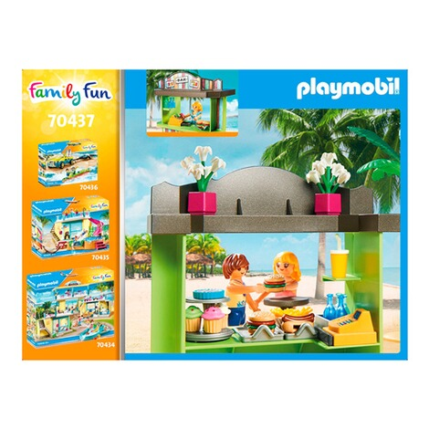Playmobil®FAMILY FUN70437 Strandkiosk 6