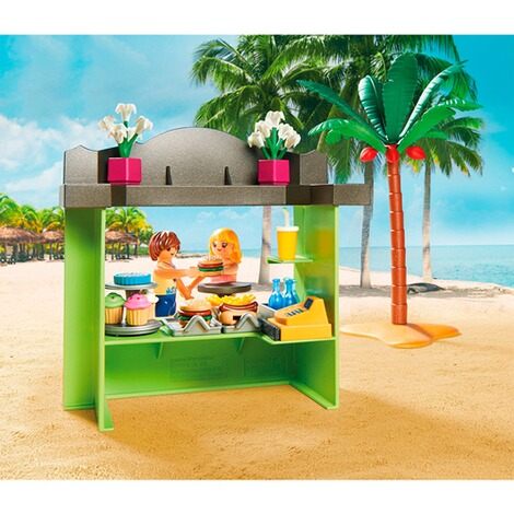 Playmobil®FAMILY FUN70437 Strandkiosk 5