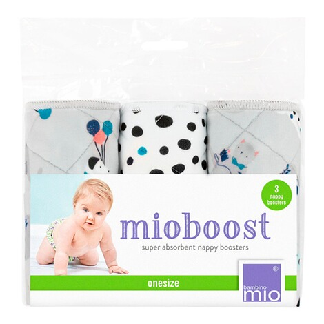 Bambino Mio3er-Pack Windeleinlagen mioboost  mehrfarbig / Pet Party 7