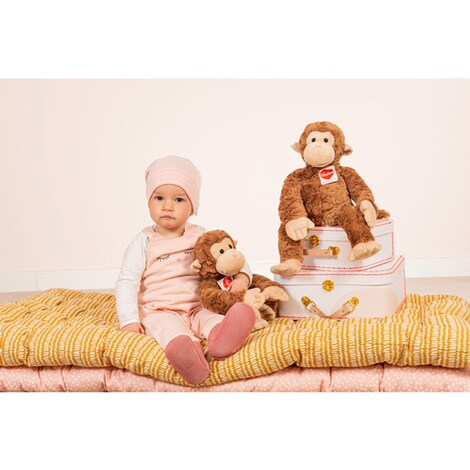 Hermann Teddy CollectionHerzekindKuscheltier Äffchen Yoyo 39cm 4