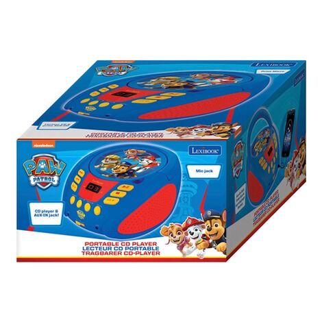 LexibookPAW PATROLBoombox CD-Player 3