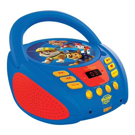 LexibookPAW PATROLBoombox CD-Player 1