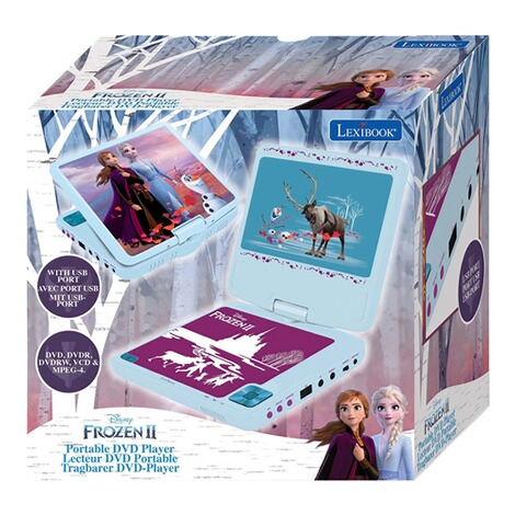 LexibookDisney Frozen IITragbarer DVD-Player 3