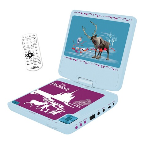 LexibookDisney Frozen IITragbarer DVD-Player 1
