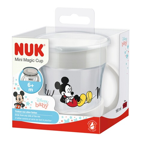 NUKDISNEY MICKEY MOUSE & FRIENDSTrinklernbecher Mini Magic Cup 160 ml  grau 3