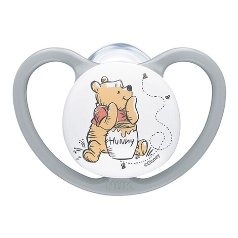NUKDISNEY WINNIE PUUH2er-Pack Schnuller Space 0-6M 2