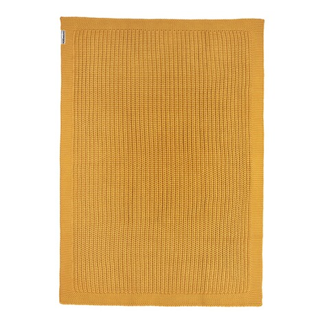MeycoBabydecke Herringbone 100x150 cm  honey gold 2