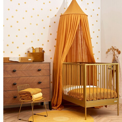 MeycoBabydecke Herringbone 100x150 cm  honey gold 5