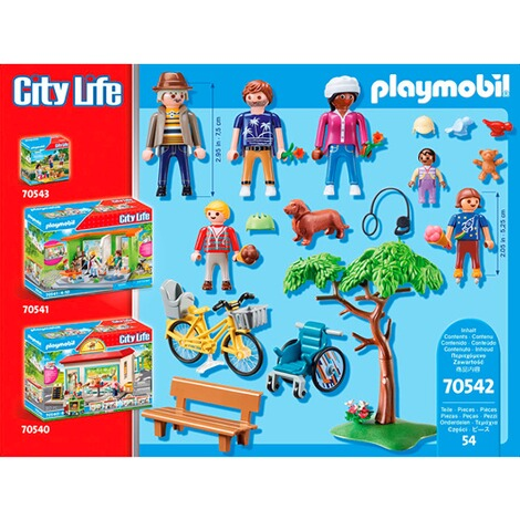 Playmobil®CITY LIFE70542 Im Stadtpark 4