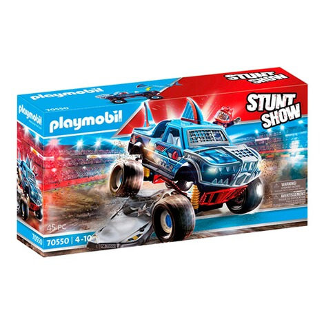 Playmobil®Stuntshow70550 Stuntshow Monster Truck Shark 1