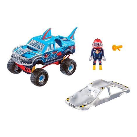 Playmobil®Stuntshow70550 Stuntshow Monster Truck Shark 2