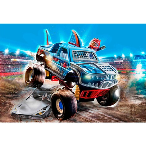 Playmobil®Stuntshow70550 Stuntshow Monster Truck Shark 3