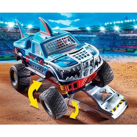Playmobil®Stuntshow70550 Stuntshow Monster Truck Shark 4