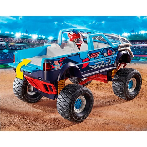 Playmobil®Stuntshow70550 Stuntshow Monster Truck Shark 5
