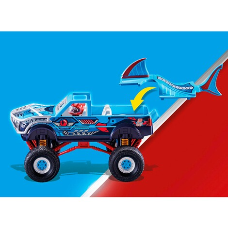 Playmobil®Stuntshow70550 Stuntshow Monster Truck Shark 6