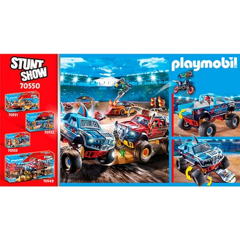 Playmobil®Stuntshow70550 Stuntshow Monster Truck Shark 7