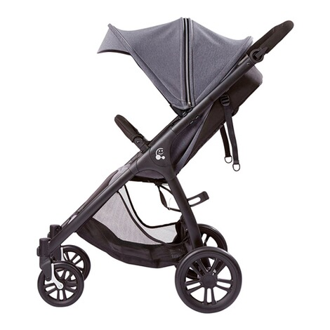 SmilooHappy Buggy mit Liegefunktion  grey melange 5