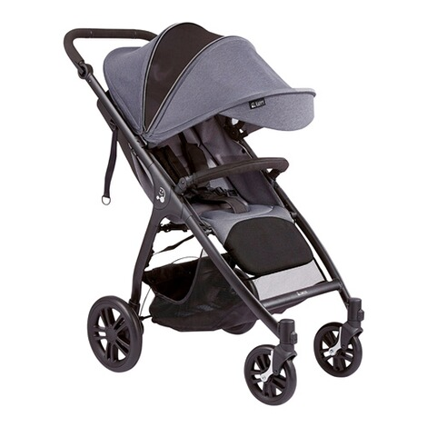 SmilooHappy Buggy mit Liegefunktion  grey melange 2