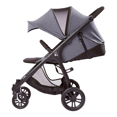 SmilooHappy Buggy mit Liegefunktion  grey melange 3