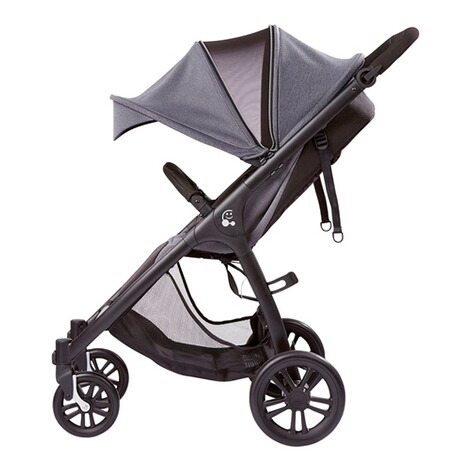 SmilooHappy Buggy mit Liegefunktion  grey melange 4