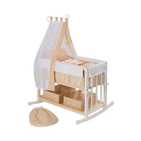 roba beistellbett mit ausstattung 4 in 1 40x80cm online. Black Bedroom Furniture Sets. Home Design Ideas