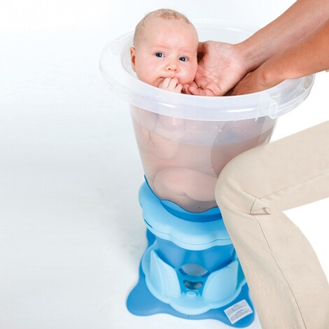 TUMMY TUB  Badeeimer Tummy Tub  transparent 2