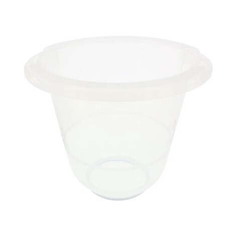 TUMMY TUB  Badeeimer Tummy Tub  transparent 1