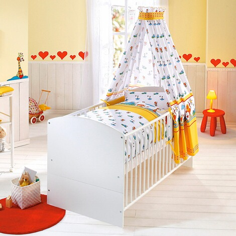 schardt babybett classic line 70x140 cm online kaufen. Black Bedroom Furniture Sets. Home Design Ideas