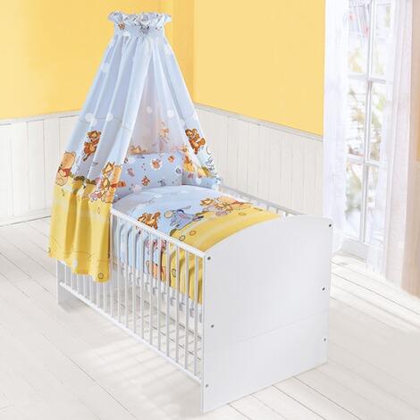 z llner disney winnie puuh 4 tlg babybettausstattung online kaufen baby walz. Black Bedroom Furniture Sets. Home Design Ideas