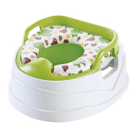 Kleinkinder erste Toilette Töpfchen und Toilettensitz Mit Herausnehmbaren Grün