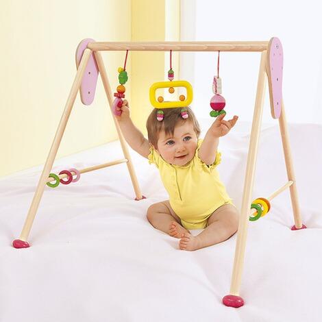 hess spielzeug spieltrapez aus holz online kaufen baby walz. Black Bedroom Furniture Sets. Home Design Ideas