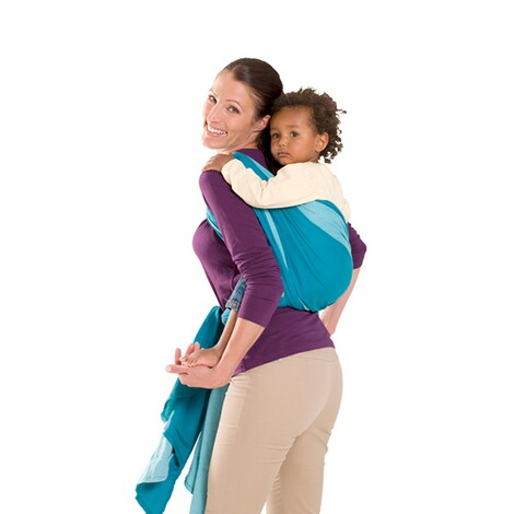 AMAZONASTREND LINEBabytragetuch Carry Sling 510cm  petrol/türkis 3