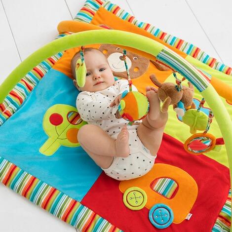 solini spielbogen bello mit 3 d activity decke online kaufen baby walz. Black Bedroom Furniture Sets. Home Design Ideas