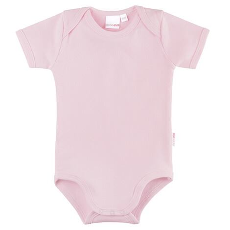 Bornino BASICS Body kurzarm  rosa 1