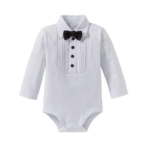geeignet für Männer/Frauen Original- am besten kaufen BORNINO Festliche Mode Body langarm Hemd mit Fliege