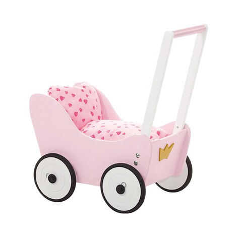pinolino puppenwagen prinzessin lea aus holz online kaufen baby walz. Black Bedroom Furniture Sets. Home Design Ideas