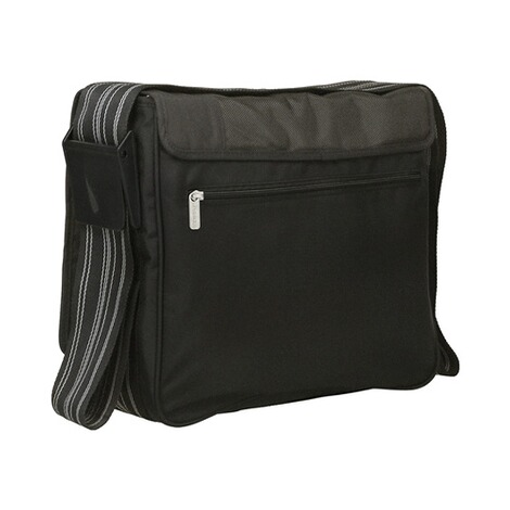 LÄSSIG CASUAL Wickeltasche Messenger Bag  patchwork black 2
