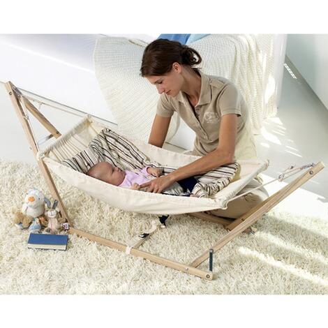 amazonas baby h ngematte koala mit holzgestell online. Black Bedroom Furniture Sets. Home Design Ideas