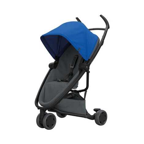 Quinny ZAPP FLEX Buggy mit Liegefunktion  Blue on Graphite 1
