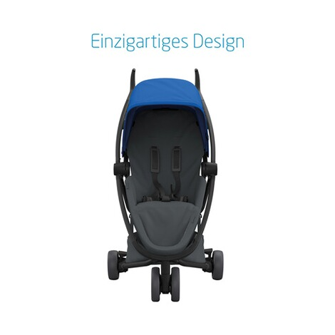 Quinny ZAPP FLEX Buggy mit Liegefunktion  Blue on Graphite 2